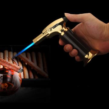 2019 New Spray Gun Jet Butane Cigar Torch Turbo Lighter Gas Lighter Cigarette Lighter 1300 C Windproof Lighters No Gas