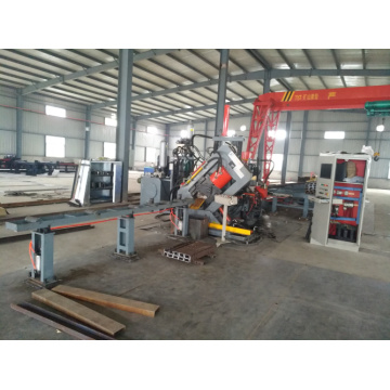 CNC Electricity Channel Steel Punching Shearing Line