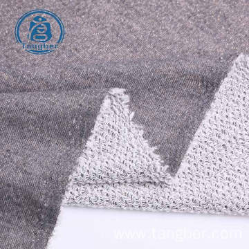 polyester cotton jacquard terry cloth fabric
