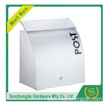 SMB-012SS Wholesales Beautiful Rustproof Wall Mounted Mount Mailbox