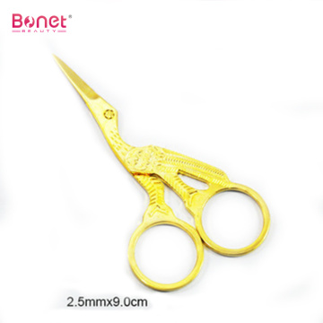 Full Gold Painting Manicure Scissors