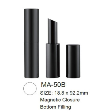 Magnetic Round Slim Lipstick with Bottom Filling