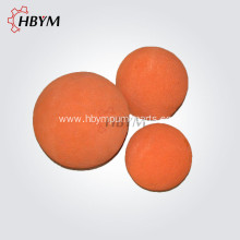 Medium Cleaning Sponge Ball for Concrete Pump Pipe