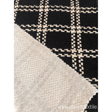 HIGH QUALITY BLACK WHITE DESIGN JACQUARD FABRIC