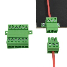 3.5mm Pitch panel fixed pluggable connector terminal block