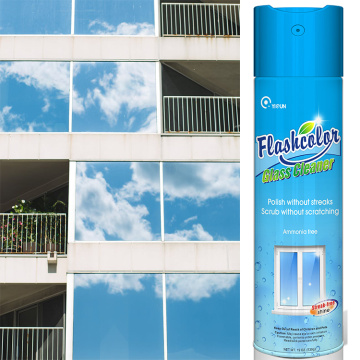aerosol glass cleaner spray glass cleaning cheap wholesale