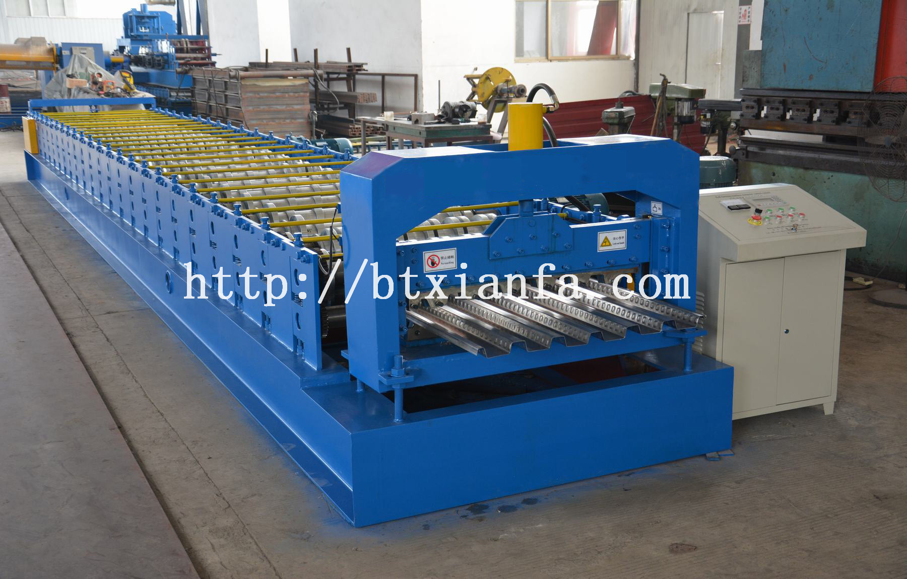 floor deck forming machine
