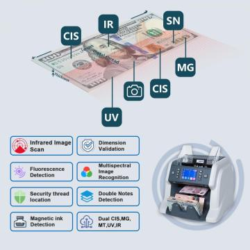 MULTI CURRENCY MIXED DENOMINATION BANKNOTE COUNTER