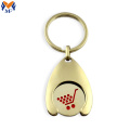 Metal Custom Shape Gold Enamel Bottle Opener