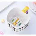 Apple Shape Bamboo Bowls for Children