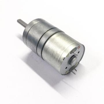 3-12v 25mm metal gear reduction motor