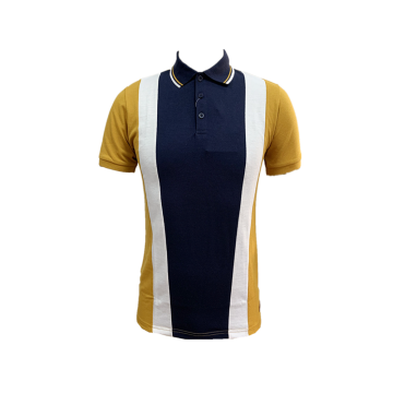 Men's Knit Yarn Dyed Pique Poloshirt