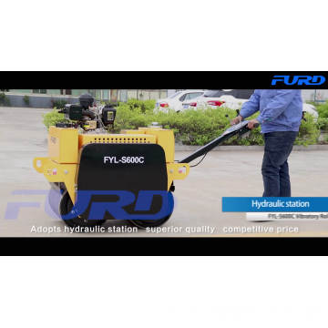 Cheap FURD Double Drum Manual Vibratory Roller (FYL-S600C)