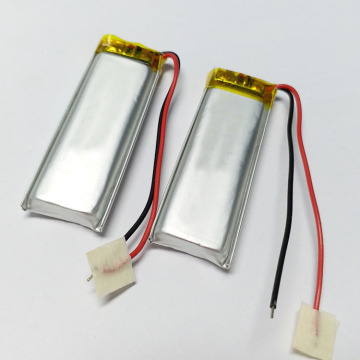 631646 430mah 3.7v GPS rechargeable small lithium battery
