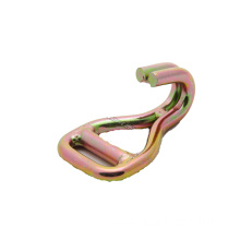 2 Inch Welded Double J Hook with Znic Plated Treament