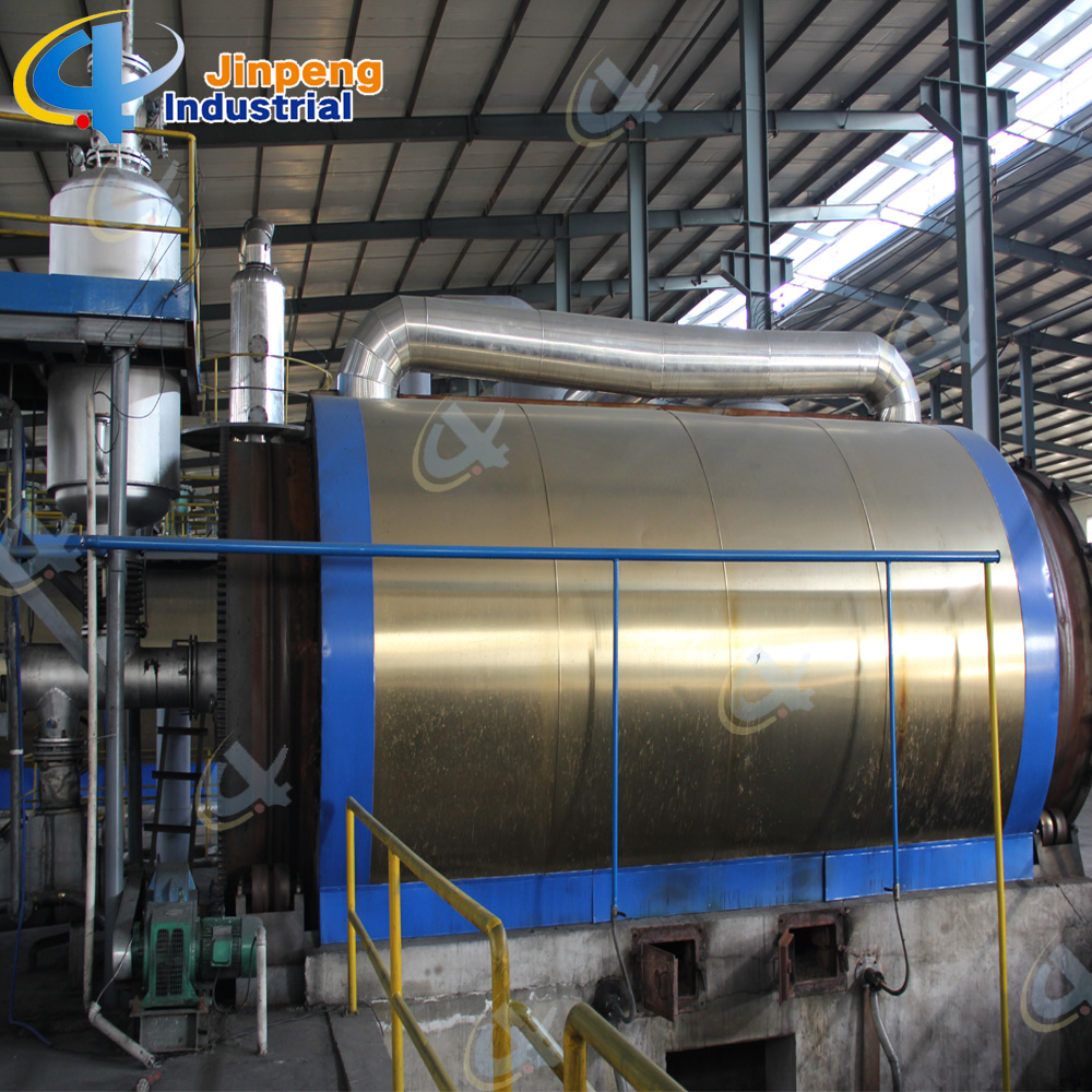 Automatic Waste Tire Pyrolsis Line