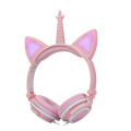 Popular Gift Cute Cat Ears New Wired Headset