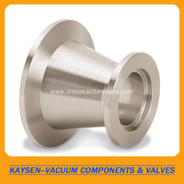 KF-KF conical reducing adapter SS304