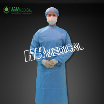 Absorbant Fabric Sugical Gown