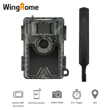 WingHome 480Ace 4G Hunting Trail Camera 24MP HD Cloud APP Cameras 940nm IR Forest Wildife Game Camera with Cloud system GPS APP
