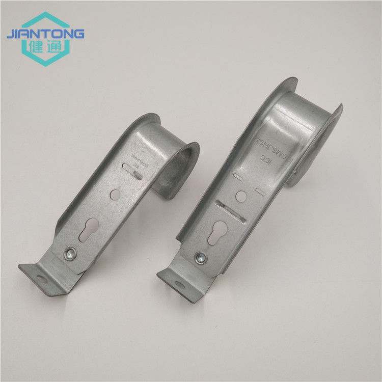 galvanized sheet metal stamping mounting J hooks