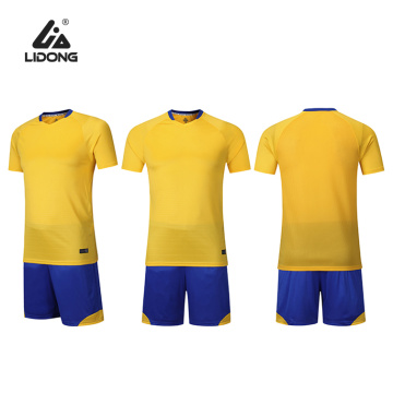 Soccer Uniforms for Men Sports Jersey and Shorts Set Short Sleeve Shirts