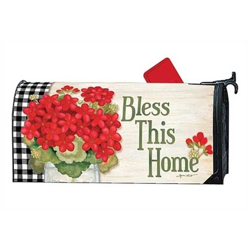 Custom Outdoor Magnetic flowers mailbox cover