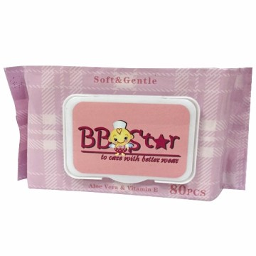 OEM Custom Single Package  Baby Wet Wipe