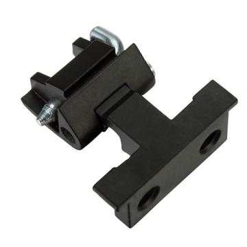 ZDC SS Pin Black Matt Chrome-coated Concealed Hinges
