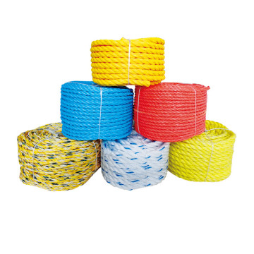 Promotion stock  PE twisted rope