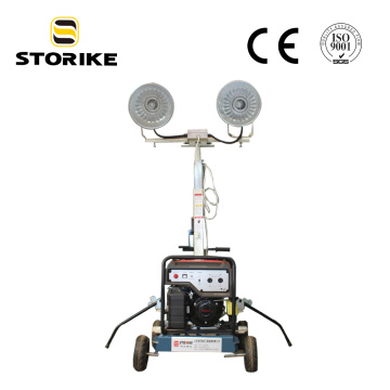 5KW Generator Honda Gasoline Mobile Light Tower