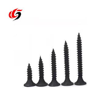 high quality different size metal steel black drywall screw