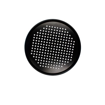 12 Inch Carbon Steel Perforated Pizza Tray