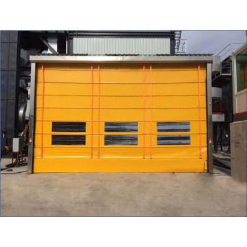 Industrial Fold up High Speed Stacking Door