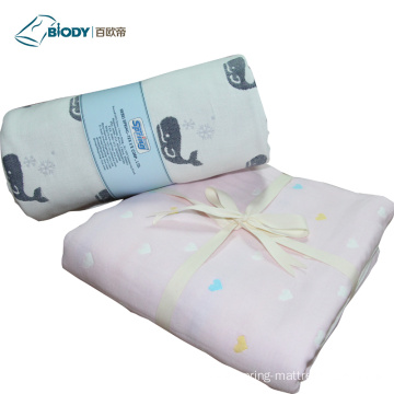 Wholesale Pretty Design Organic Cotton Baby Blanket