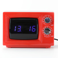 Red TV Digital Alarm Table Clocks