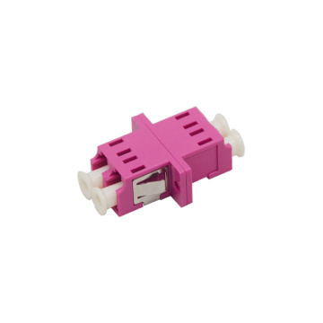 Duplex LC to LC OM4 Fiber Optic Adaptor
