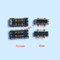 10pcs Inner Battery FPC Connector Holder Clip Contact For Xiaomi Hongmi Redmi note 8 note8pro note8 pro note 8pro on motherboard