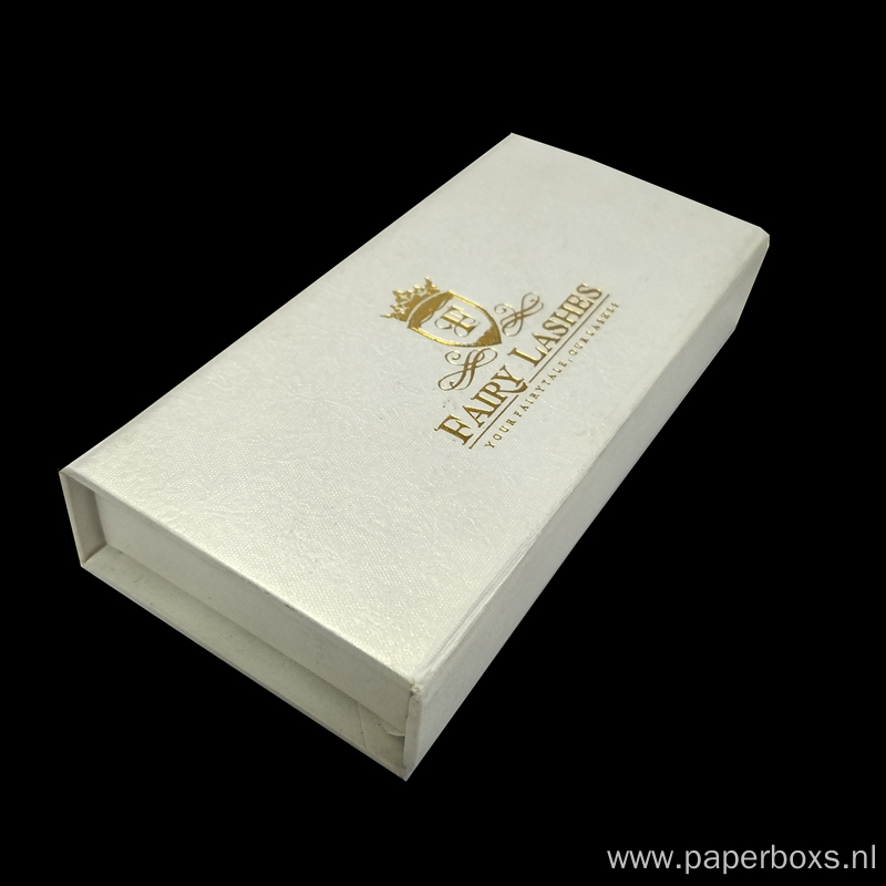 magnetic closure book shape eyelashes gift packaging box