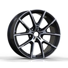 Alloy BMW Replica Wheel Satin Black Machined Face