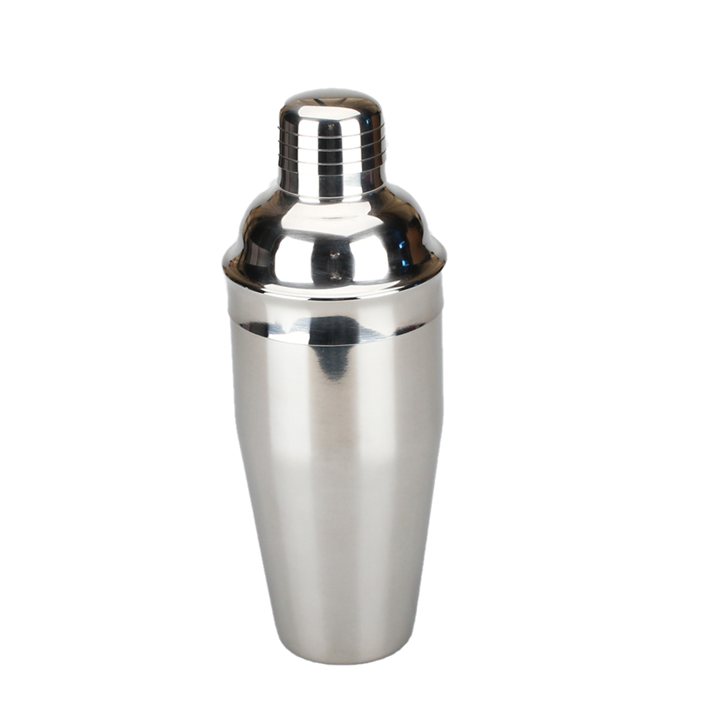 With Metal Lid Cocktail Shaker