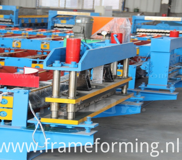 1000 metal roof sheet machine roofing panel roll forming machine shearing