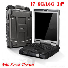 2020 Used laptop computer Getac B300 i7 8G Ram Fast Speed Tablet PC battery charger fully reinforced three-proof laptop