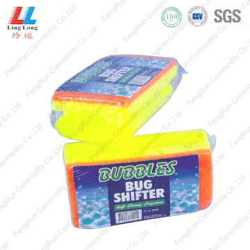 Soft bulk shifter car cleaning sponge