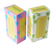 OEM Custom Handmade Paper Cardboard Foldable Soap Box