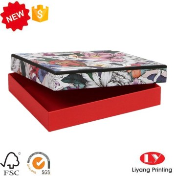 Ang Fashion Customized nga karton nga scarf shirt box packaging