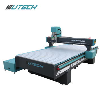 4 axis 1325 cnc router with rotary attachment