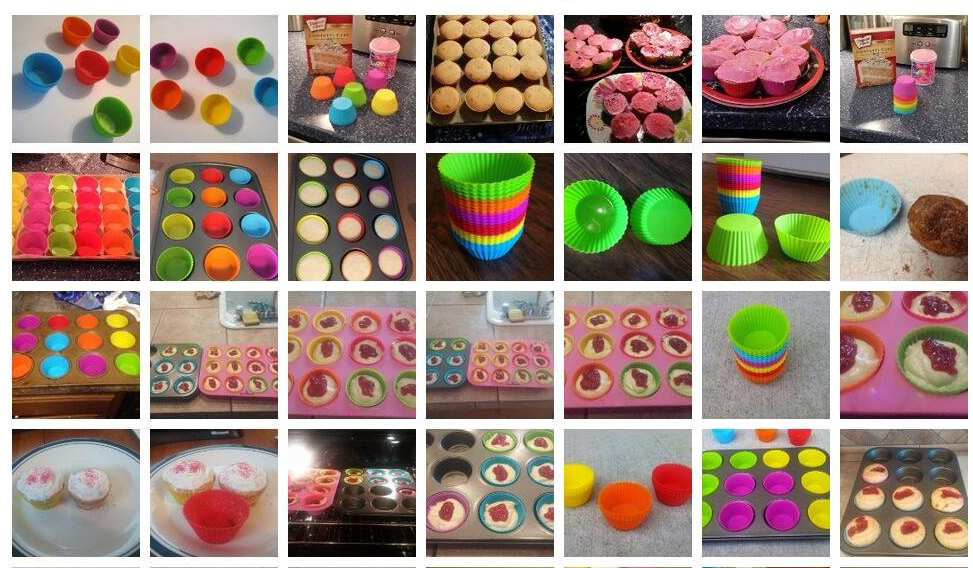 silicone muffin cup-2