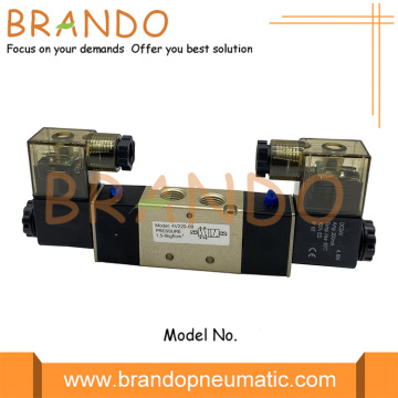 4V220-08 Double Solenoid Terminal Pneumatic Air Valve