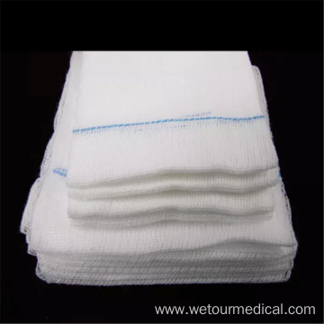 Disposable 100% Cotton Medical Gauze Swab